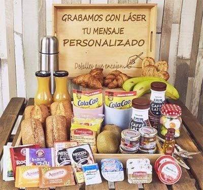Bandejas de desayuno promocionales