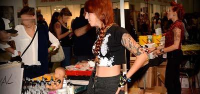 Convenciones exposiciones Tattoo Barcelona