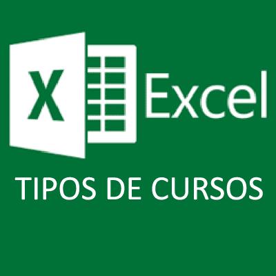 Tipos de cursos Excel