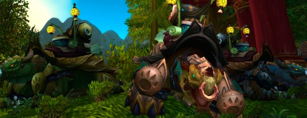 Mists of Pandaria Nuevas Monturas Mists of Pandaria Guas WoW