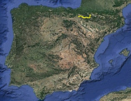 Camino Aragonés o Francés desde Somport