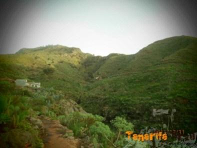 Vaquería al fondo subiendo al Pico del Inglés