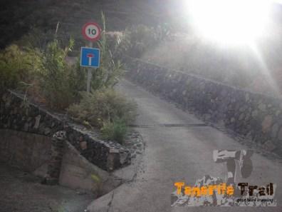 Salida en el Valle de Igueste del sendero PR TF 5