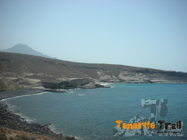Playa de Diego Hernández y Morteeros al fondo