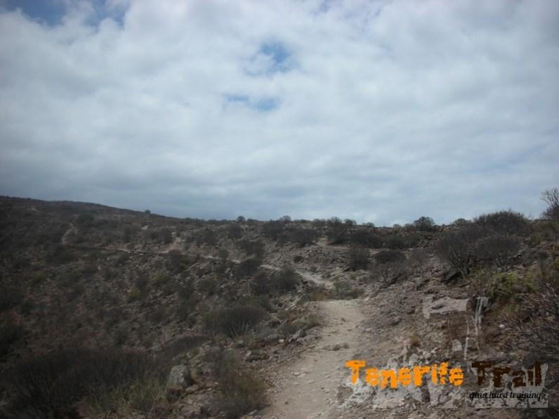 Sendero en la zona de la Montaña de Guaza