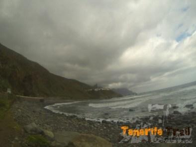 Playa desde Benijo a Almáciga por la costa
