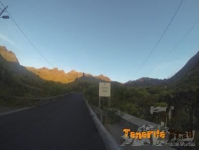 Ya en el Valle del Cercado inicio de Parque Rural de Anaga