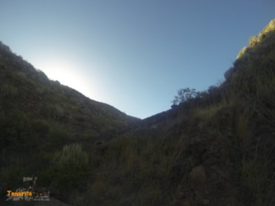Detalle atarjea barranco La Leña