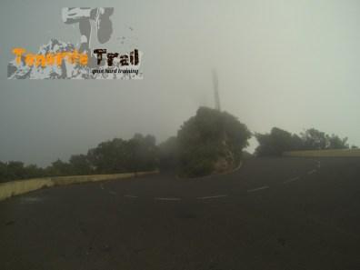 Detalle carretera Pico del Inglés