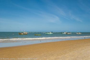 Foto da Praia dos Coqueiros, em Trancoso, BA – Crédito da Foto: © Ricardo Junior Fotografias.com.br