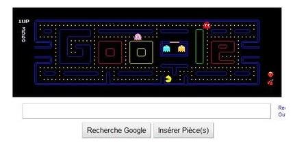 Logo PacMan Google