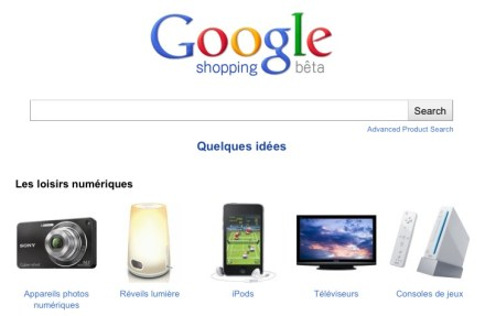 Google Shopping arrive en France