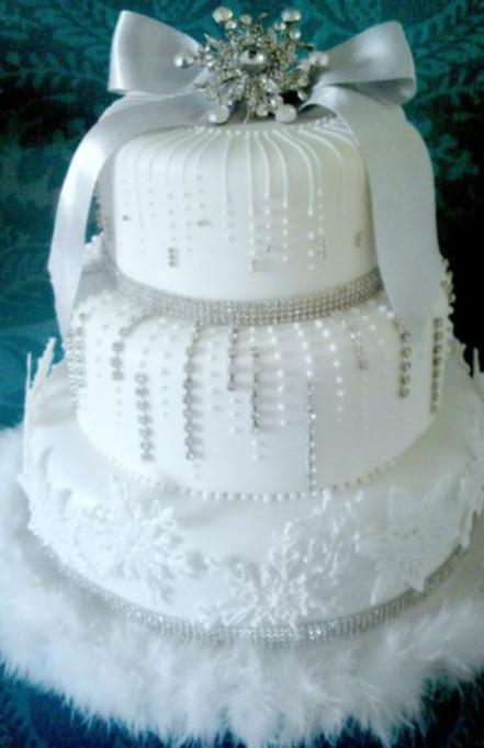 7 wedding cake invernali da sogno  GuidaCateringit