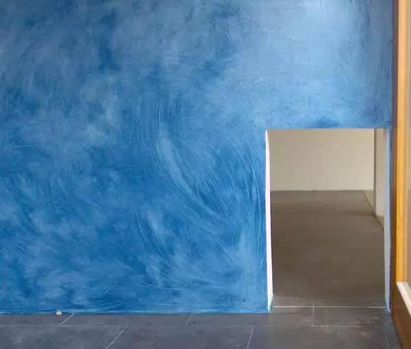 Dipingere le pareti tecnica della velatura