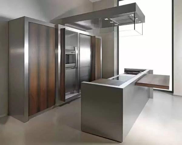 Cucine in acciaio come sceglierle