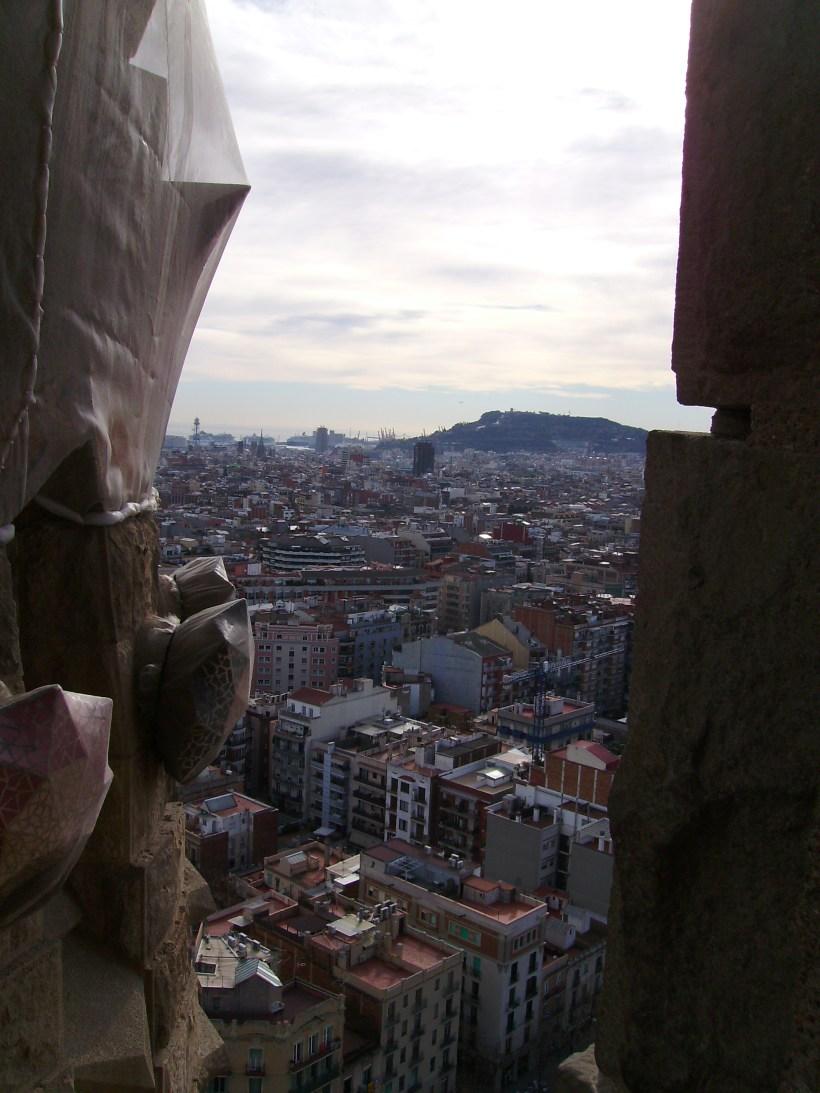 Barcellona - Sagrada Familia (veduta dalla Torre)