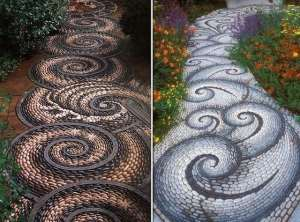 Vialetti fai da te per il giardino