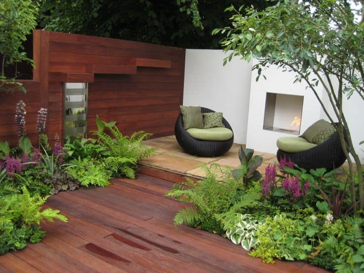 Giardini piccoli la scelta della pavimentazione guida giardino - Pavimentazione giardino in legno ...