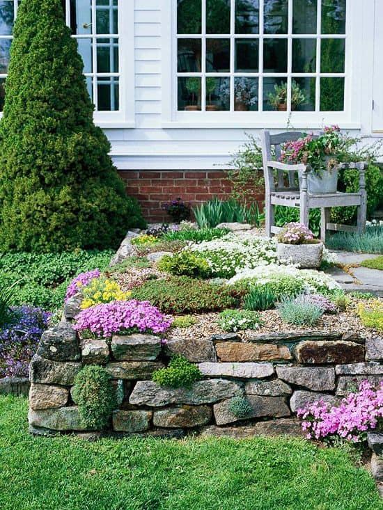 Come piantare tra le rocce guida giardino - Rocce da giardino ...
