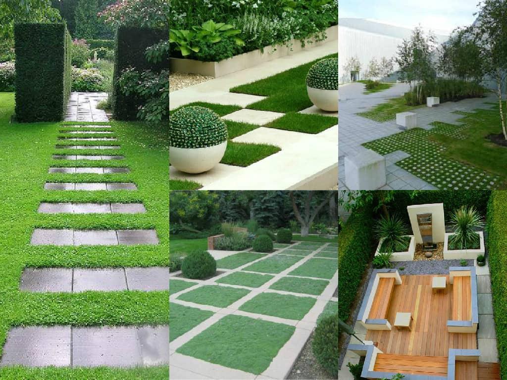 Come creare un giardino geometrico guida giardino - Idee aiuole giardino ...
