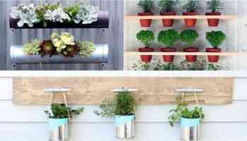 14 idee fai da te per creare bellissimi giardini verticali | guida ... - Piante Per Giardini Verticali