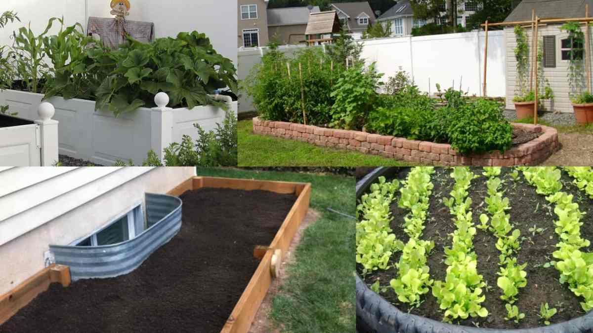 10 modi per realizzare un letto rialzato funzionale ed for Realizzare un giardino