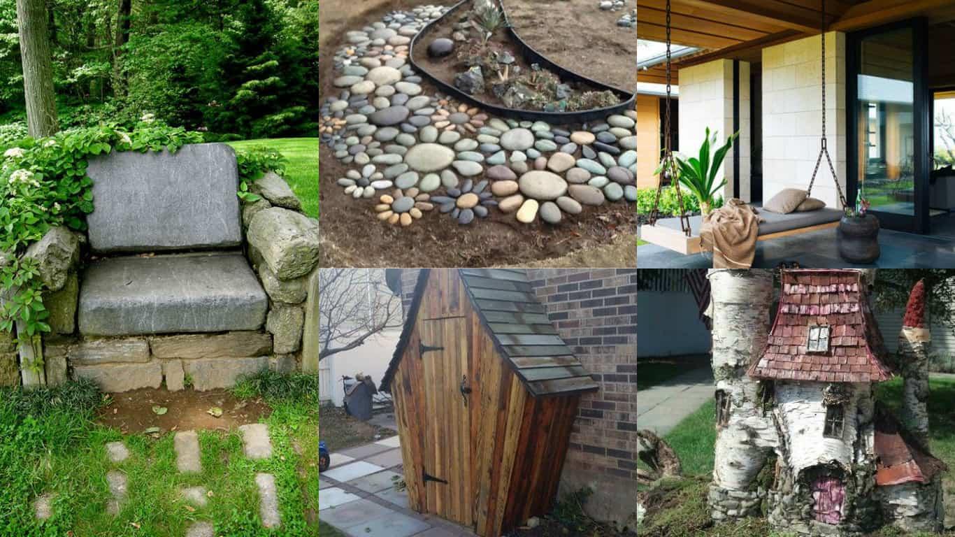 Elementi Decorativi Da Giardino : Decorare il giardino idee creative guida giardino