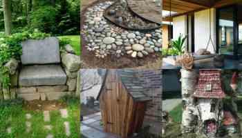 200 idee per decorare il giardino riciclando - Decorazioni per giardini ...