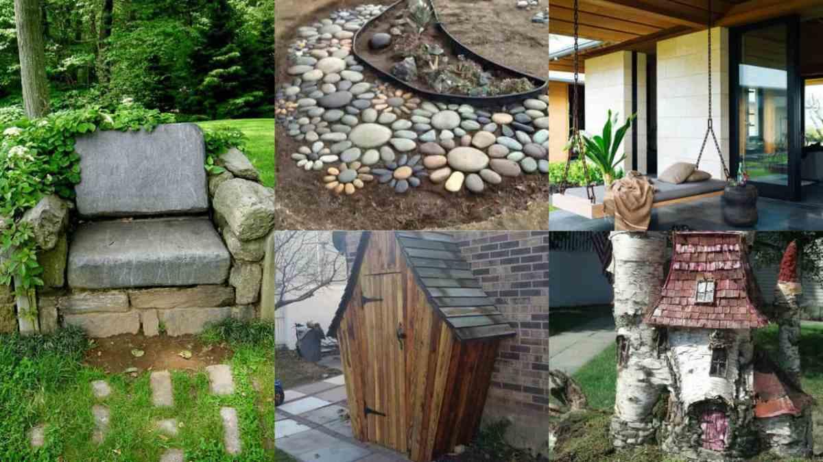 Decorare il giardino 15 idee creative guida giardino for Arredare il giardino fai da te