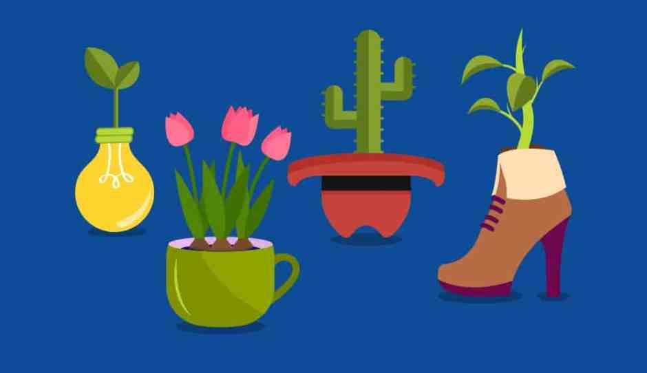 7 idee di upcycle: da vecchi oggetti a vasi per interni