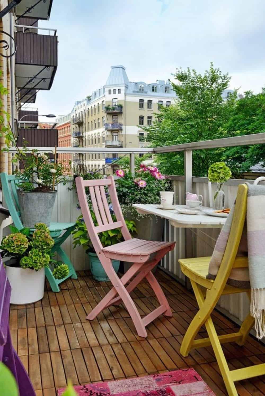 Arredo Balconi E Terrazze terrazzo piccolo: 10 idee low cost e salva spazio - guida