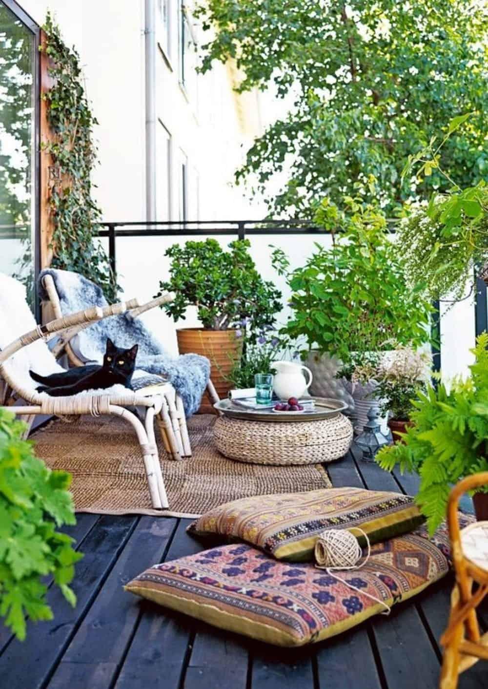 Divanetto Per Balcone Piccolo terrazzo piccolo: 10 idee low cost e salva spazio - guida