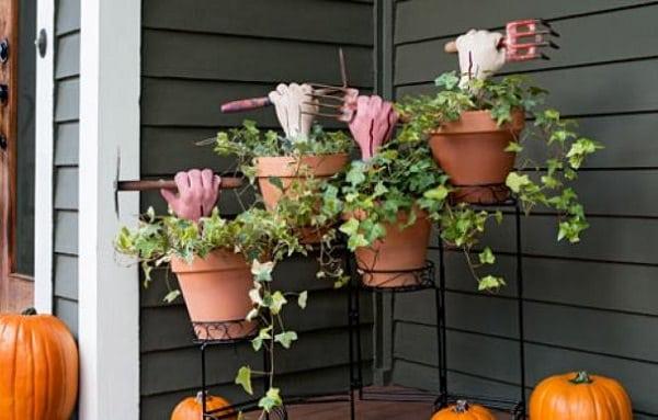 decorazioni di Halloween per il giardino