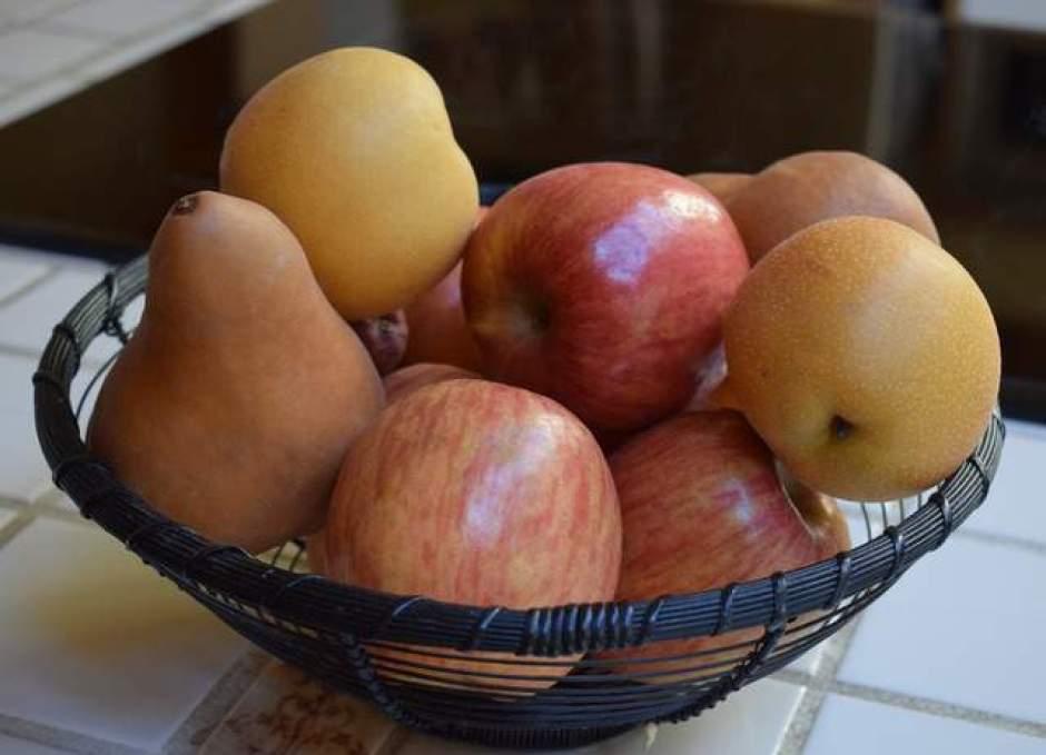 mele e pere, frutti autunnali