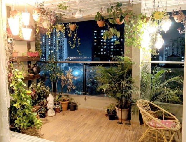 il terrazzo che profuma di notte