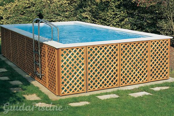 Piscine fuoriterra fisse vs piscine smontabili  GuidaPiscineit