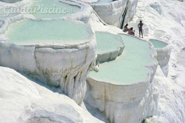 La meraviglia delle piscine naturali di Pamukkale  GuidaPiscineit