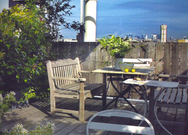 Arredamento per il terrazzo di casa