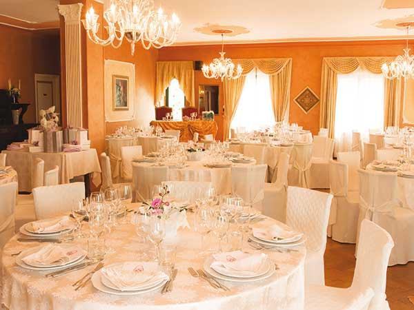 La Reggia  PER IL RICEVIMENTO Ristorante matrimonio Torrazza Piemonte