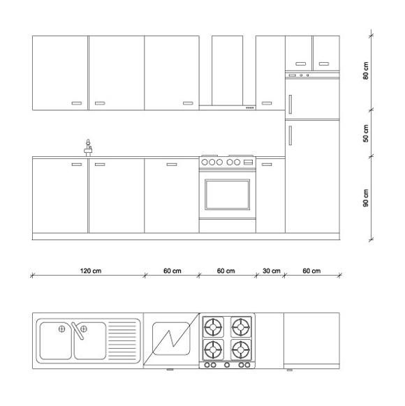 Misure cucina le regole di progettazione  Guida per Casa