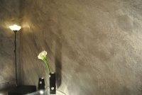 Effetti Pittura Pareti Interne.Colorare Effetto Pietra Cemento Stampato Per Pavimento