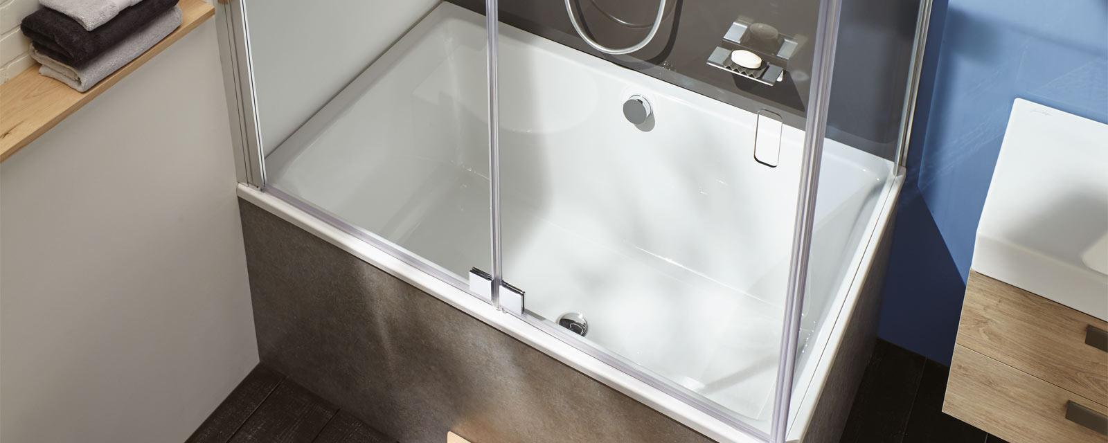 baignoire pour petite salle de bains