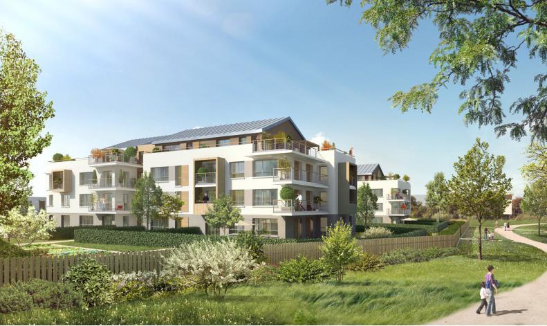 Programme Le Cottage  appartement neuf VertSaintDenis 77