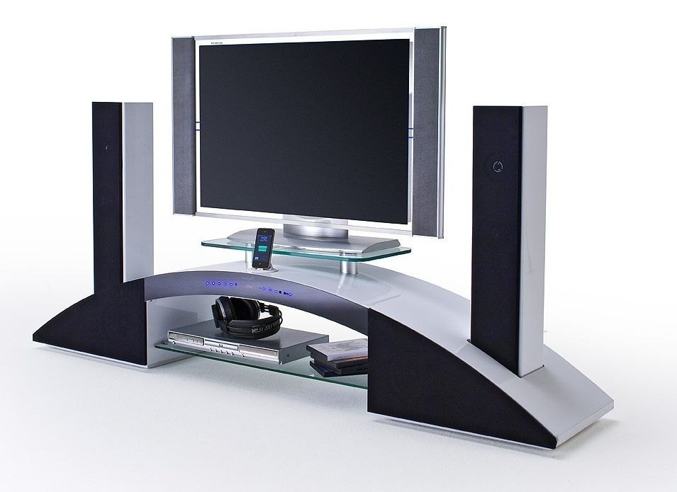 meuble tv avec enceinte