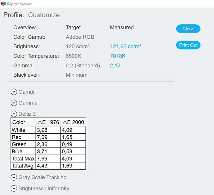 Test de l'écran ASUS PA32UCX-K
