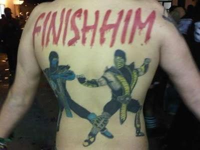 tattoo mortal kombat