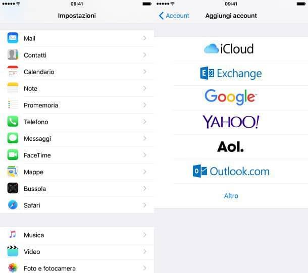 Come trasferire rubrica iPhone Android