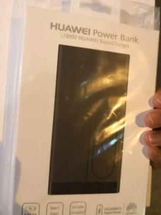 Huawei powerbank regalo Apple Store iPhone XS