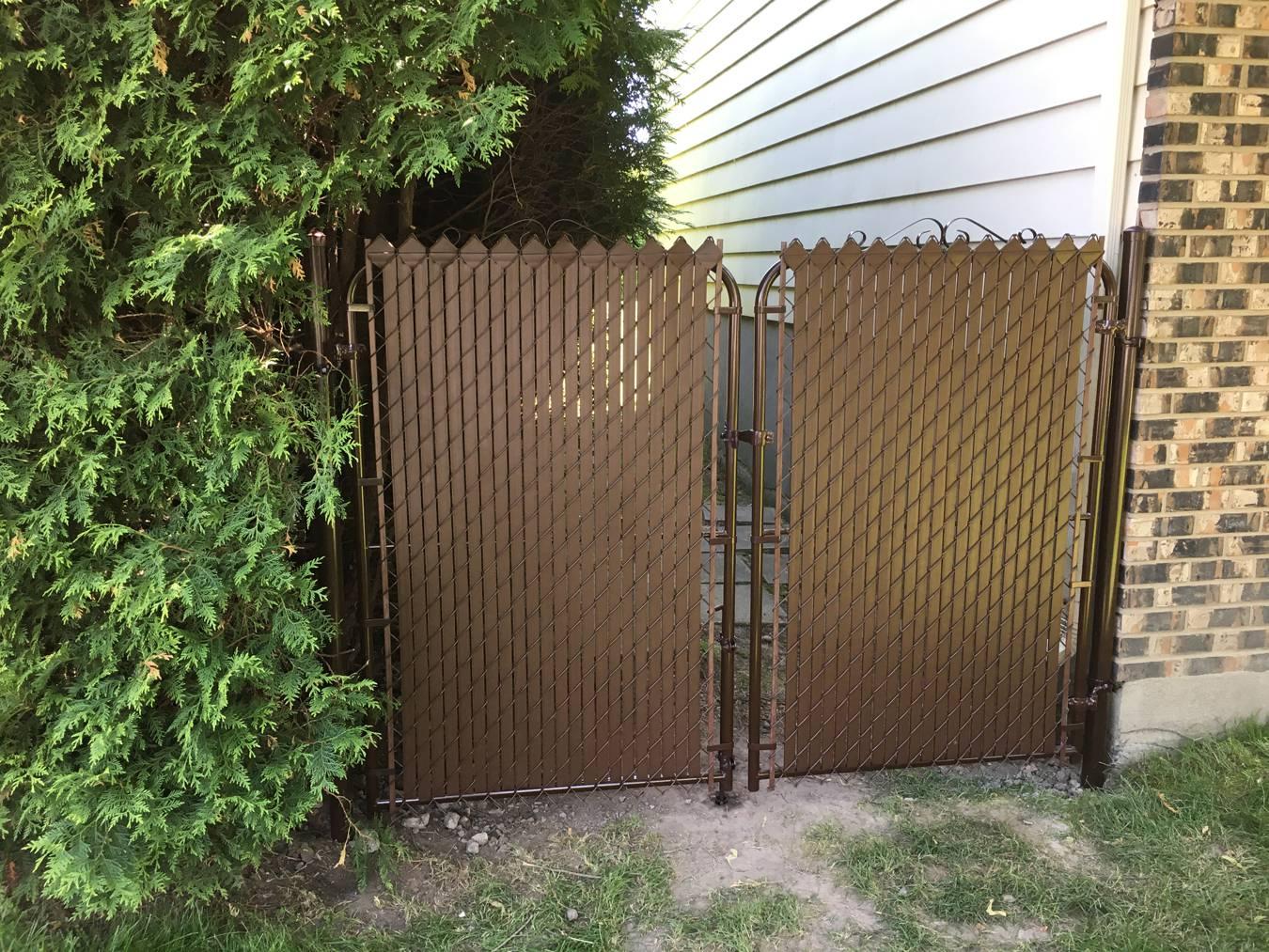 porte de clôture