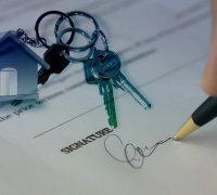 Un contrat de vente immobilière